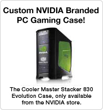 Custom NVIDIA branded PC Gaming Case!