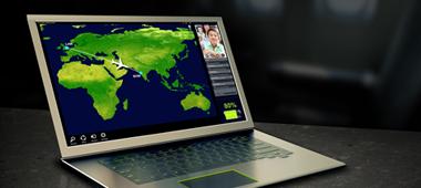 Tenga excelente rendimiento y batería de larga duración, automáticamente, con la tecnología NVIDIA® Optimus™