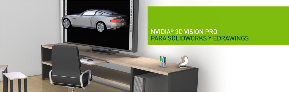 3D Vision PRO PARA SOlidworks Y edrawings