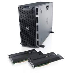 Dell PowerEdge T620 Server with NVIDIA Tesla GPUs
