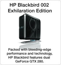 HP Blackbird 002 Exhilaration Edition