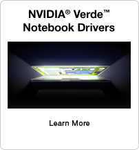 NVIDIA Verde Notebook Drivers